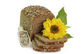 Rye-Bread with Sunflower Seeds — Stock Photo