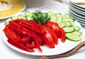 Vegetable coldcuts — Stock Photo