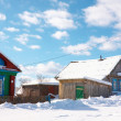 Village in wintertime — Stock Photo #3089895