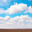Sky over field — Stock Photo #3089952