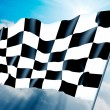 Checkered flag — Stock Photo #3090310