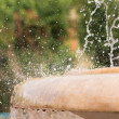 Stock Photo: Splashing fountain