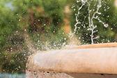 Splashing fountain — Stock Photo