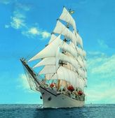 Sailing ship — Stock Photo