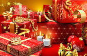 The presents — Stock Photo