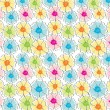 Royalty-Free Stock Imagen vectorial: Abstract seamless floral background
