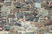 Medieval wall brick texture — Stock Photo