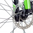 Hydraulic dics brake of mountain bicycle - Foto de Stock