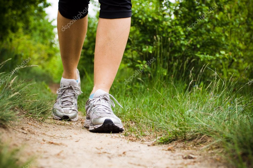 Walking Cross Country and Trail — Stock Photo #3077821