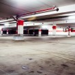 Parking garage, grunge underground interior - Foto Stock