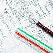 Stockfoto: House blueprints
