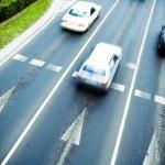 Traffic motion blur — Stock Photo #3367505