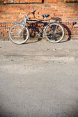 City cykel — Stockfoto
