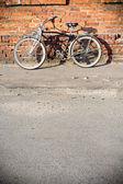 Miasto rowerów — Zdjęcie stockowe