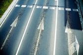 Road lanes — Stock Photo