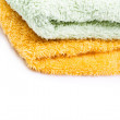 Towels isolated — Stock Photo