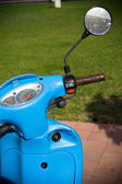 Retro style scooter — Stock Photo