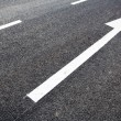 Road marking arrows — Stock Photo