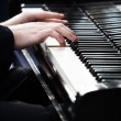 Playing piano — Stock Photo #3776701