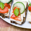 Healthy sandwich — Stock Photo #3798566