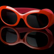Royalty-Free Stock Photo: Red sunglasses