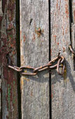 Old rusty chain — Stock Photo