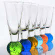 Shot glasses — Foto de Stock