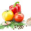 Fresh vitamin background — Stockfoto #3543324