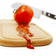 Royalty-Free Stock Photo: Making ketchup