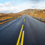 Empty mountain road — Stock Photo #2888651