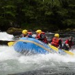 Stock Photo: Rafting