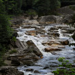 White Water in an Adirondack Stream — Stock Photo