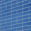 Exterior windows of a modern commercial office building — Stock Photo #3818206
