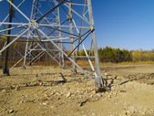 Electric towers — Stock Photo