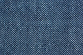 Close-up shot of blue denim — Stock Photo