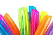 Upper parts of fluorescent markers — Stock Photo