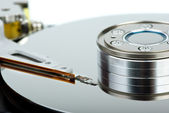 HDD drive inside — Stock Photo