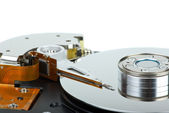 Hdd drive from inside — Stock Photo