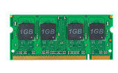 Laptop memory module (SO-DIMM) — Stock Photo