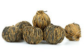 Braided yunnan black tea — Stock Photo
