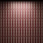 Illuminated fabric wallpaper — Stock Photo #2728908