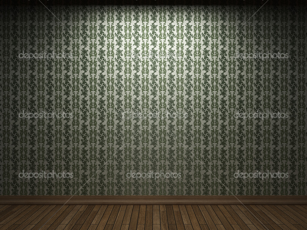 Illuminated fabric wallpaper made in 3D graphics — Stock Photo #2728762