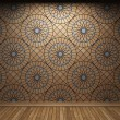 Illuminated tile wall - Stock fotografie