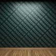 Illuminated fabric wallpaper — Stock Photo #2780666