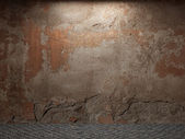 Old concrete wall — Stock Photo