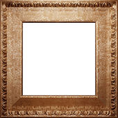Metal antique frame — Stock Photo