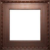Wooden antique frame — Stock Photo