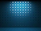 Illuminated tile wall — 图库照片