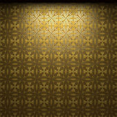 Illuminated tile wall — Foto de Stock