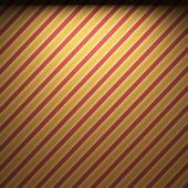 照明的织物壁纸 — 图库照片